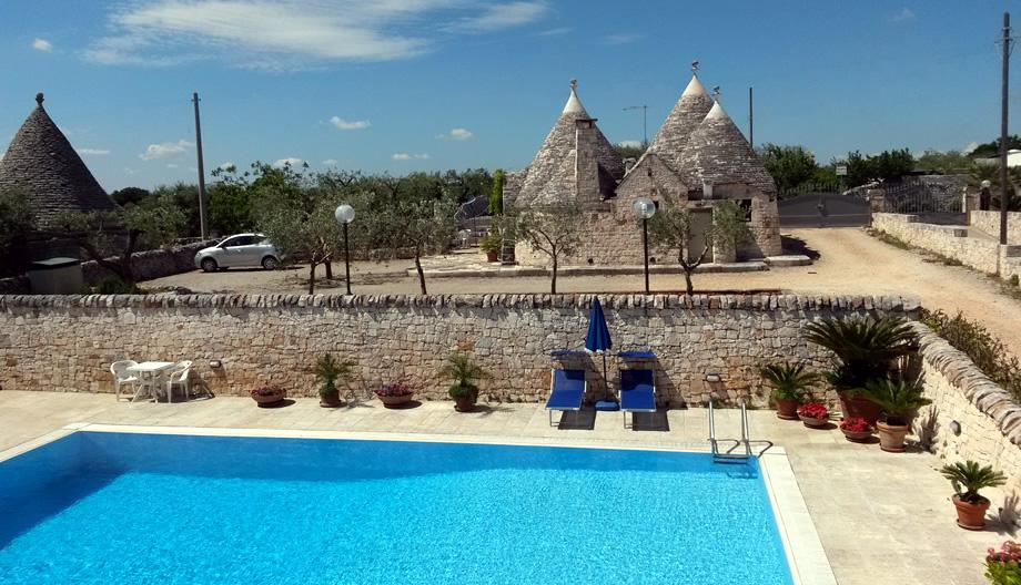 Trullo Pellegrini - Holiday in trulli